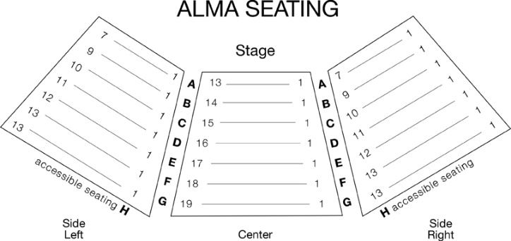 Alma Seating Chart
