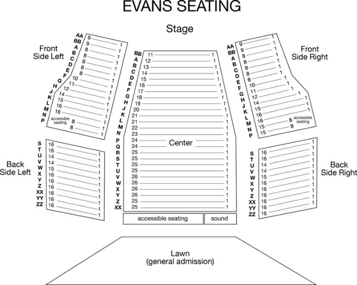 Evans Seating Chart