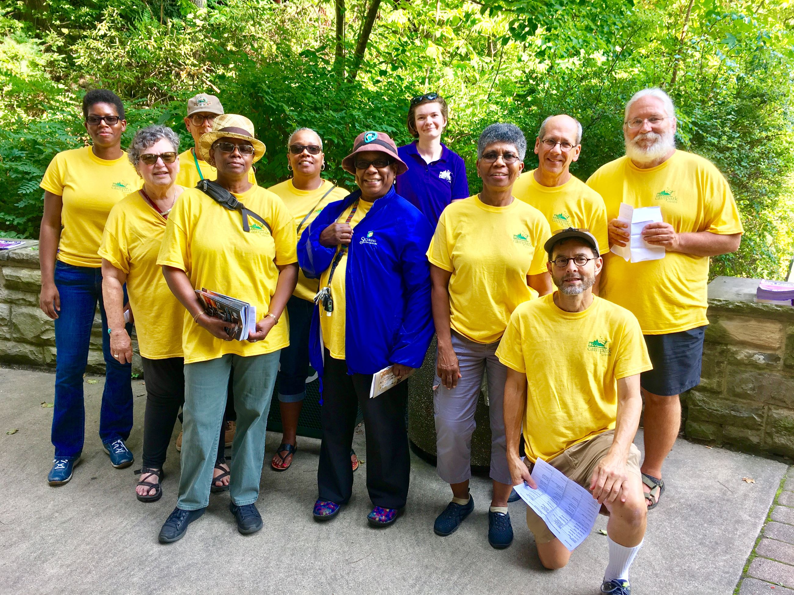 Image of Cain Park volunteers