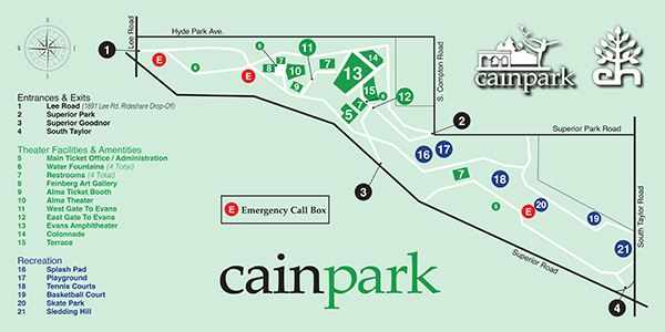 Image of Cain Park site